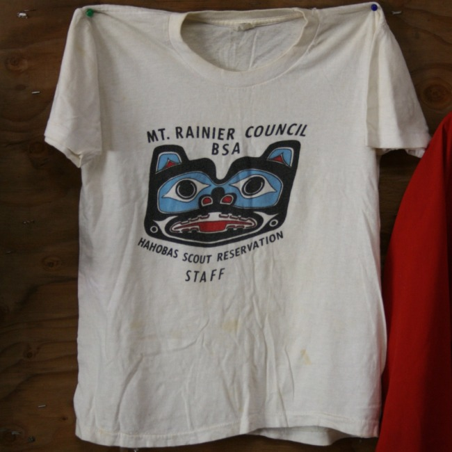 Click to find out more about Camp Hahobas Staff T-Shirt - 1974