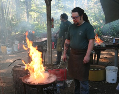 Click to find out more about Blacksmith Metalworking Program